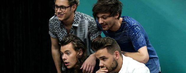 One Direction beim Fotoshooting im Rahmen des Jingle Balls