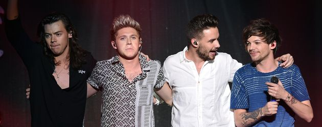 One Direction beim Jingle Ball 2015