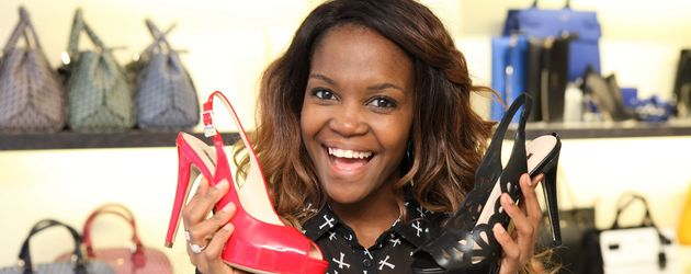 "Oti Mabuse bei ""Promi Shopping Queen"""