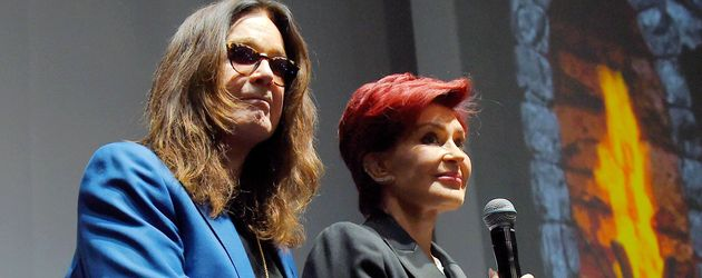 Ozzy und Sharon Osbourne in San Bernardino