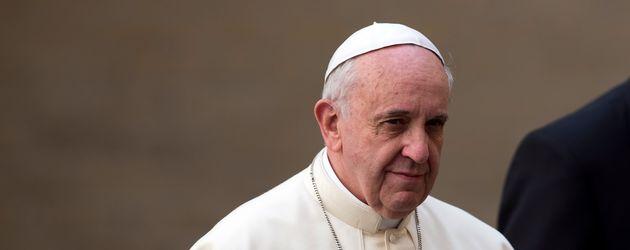 Papst Franziskus I. im Vatikan