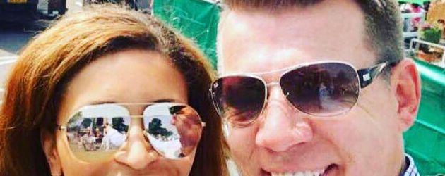 Patricia Blanco mit ihrem Ex-Freund Axel Kahn