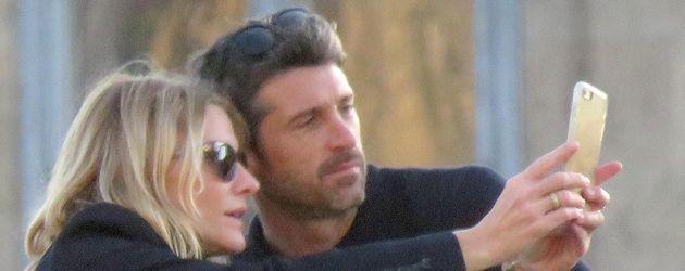 Patrick Dempsey und Jillian Fink
