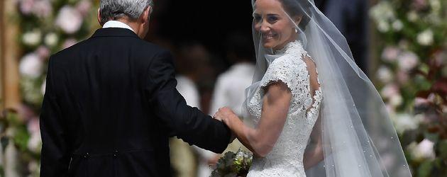 Pippa Middleton bei ihrer Hochzeit 2017