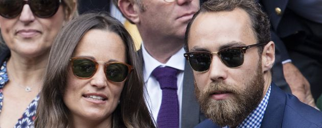 Pippa Middleton und James Middleton beim Grand Slam Turnier in Wimbledon 2016