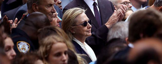 Politikerin Hillary Clinton am 9.September 2016 in New York City
