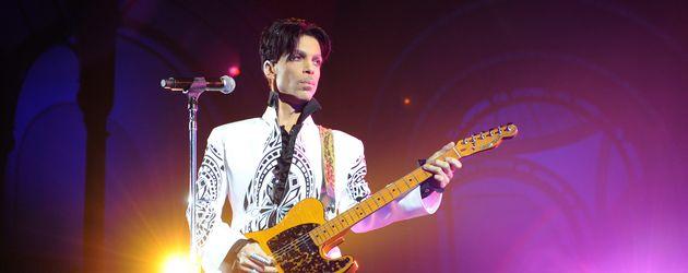Prince bei einem Konzert 2009
