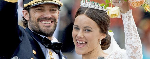Prinz Carl Philip von Schweden und Sofia Hellqvist