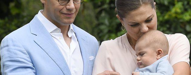 Prinz Daniel, Prinzessin Victoria und Prinz Oscar