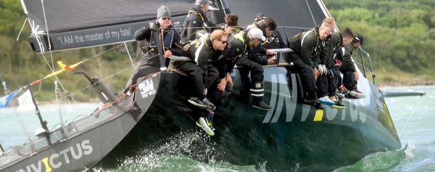 Prinz Harry bei einem Yacht-Rennen