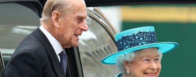 Prinz Philipp und Queen Elizabeth II.
