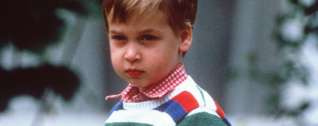 Prinz William in Kindertagen