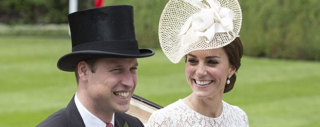 Prinz William und Herzogin Kate beim Royal Ascot 2016
