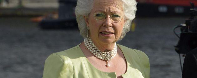 Prinzessin Christina Magnuson vor dem Drottningholm Palast