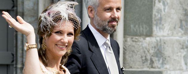 Prinzessin Märtha Louise & Ari Behn bei den Feierlichkeiten zum 25. Jubiläum der Krönung von Harald
