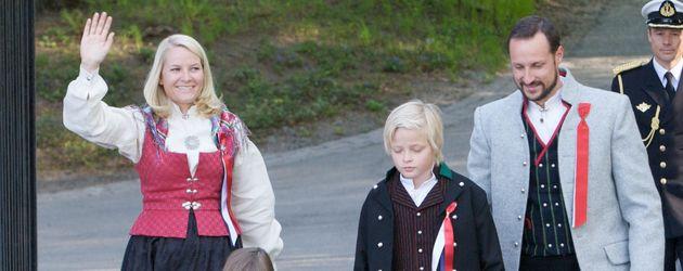 Prinzessin Mette-Marit und ihre Familie in Oslo
