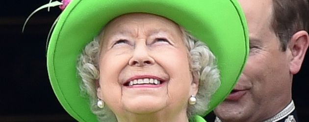 "Queen Elizabeth II bei ""Trooping The Colour"""