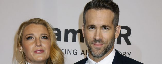 Blake Lively und Ryan Reynolds im Februar 2016 auf einer Gala in New York