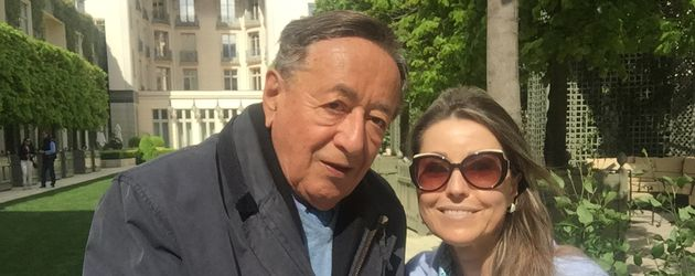 Richard Lugner und seine neue Freundin Andrea