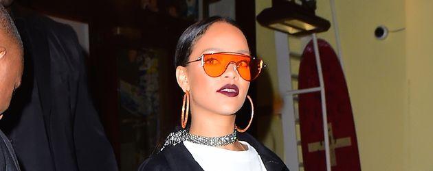 """Rihanna bei ihrer Ankunft im """"Cipriani's""""-Club in Manhattan"""