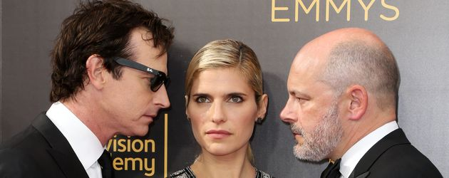 Rob Huebel,Lake Bell und Rob Corddry