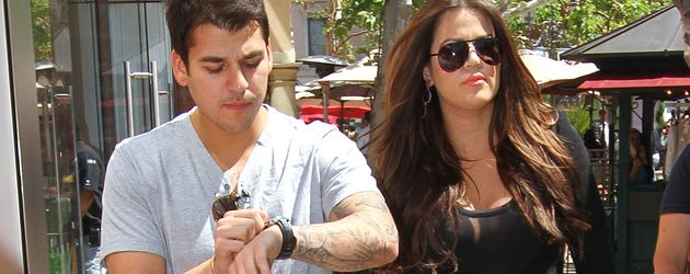 "Rob und Khloe Kardashian beim Shoppen in ""The Grove"" in L.A."