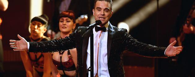 Robbie Williams bei seinem Bambi-Auftritt