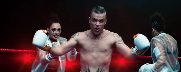 "Robbie Williams im Teaser zum Musikvideo zu ""Heavy Entertainment Show"""