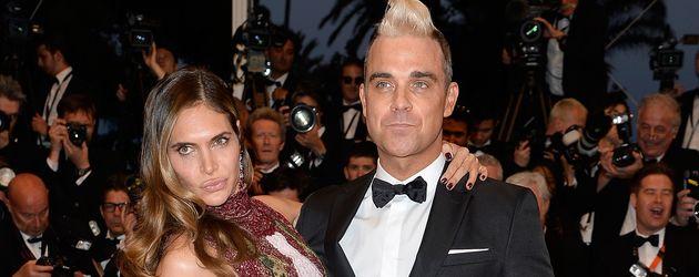 Robbie Williams und seine Frau Ayda beim 68. Film-Festival in Cannes