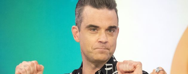 "Robbie Williams zu Gast bei der TV Show ""Loose Women"" in London"
