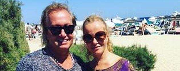Robert Geiss und Katja Burkhard in Saint Tropez