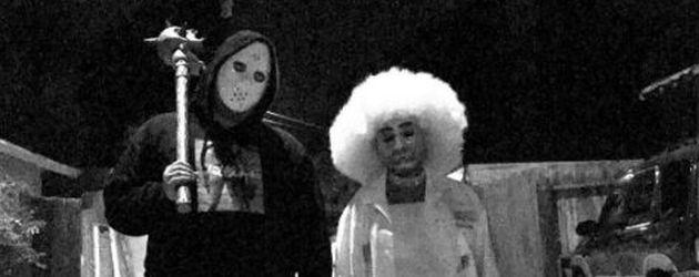 Robert Kardashian und Blac Chyna an Halloween