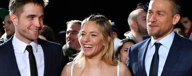"""Robert Pattinson, Sienna Miller und Charlie Hunnam bei der """"The Lost City Of Z""""-Premiere in London"""