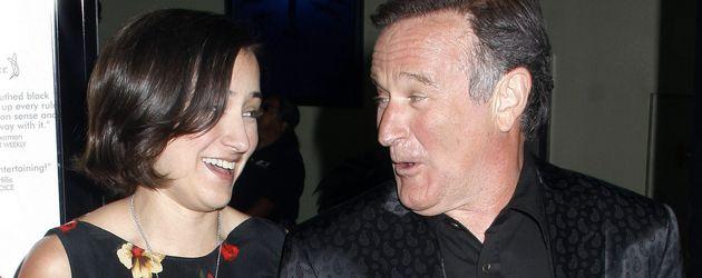 Robin Williams und Zelda Williams
