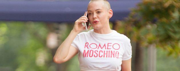Schauspielerin Rose McGowan