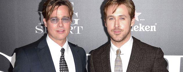 Ryan Gosling und Brad Pitt