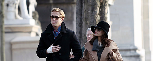 Ryan Gosling und Eva Mendes in New York