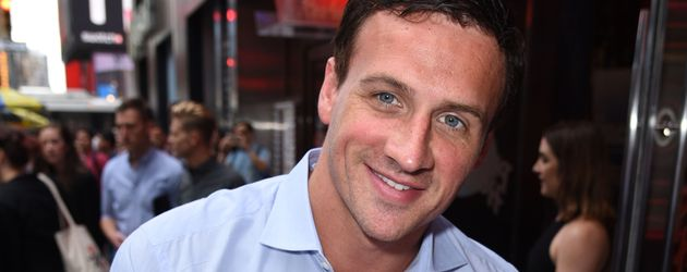 Ryan Lochte in NYC