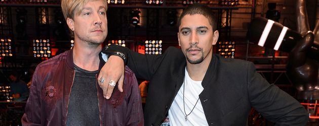 "Samu Haber und Andreas Bourani beim ""The Voice of Germany"" Photocall zur 6. Staffel"