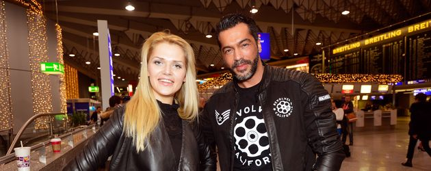 Aurelio Savina und Sara Kulka
