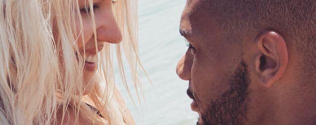 Sarah Nowak und Dominic Harrison im Kroatien-Urlaub