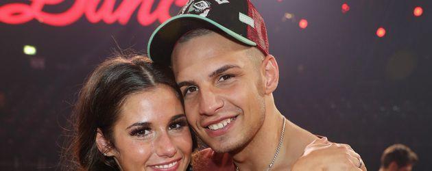 """Sarah und Pietro Lombardi nach der Finalshow von """"Let's Dance"""" in Köln"""