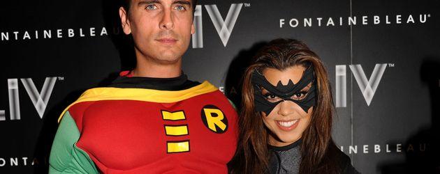 Scott Disick & Kourtney Kardashian an Halloween 2012