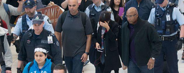 Selena Gomez am Flughafen in Sydney