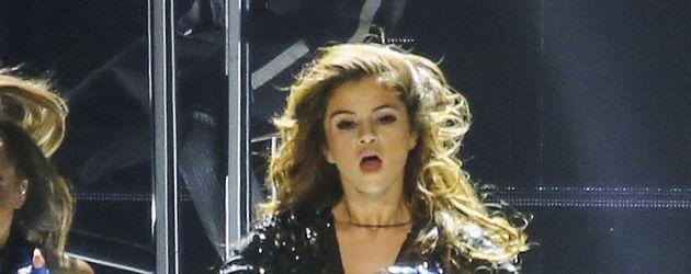 Selena Gomez beim Konzert in Vancouver