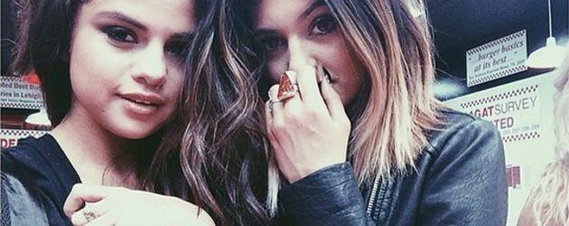 Selena Gomez und Kylie Jenner