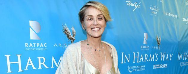 Sharon Stone auf einer Veranstaltung der UNO in Los Angeles
