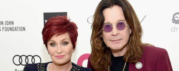 "Sharon und Ozzy Osbourne bei der ""Elton John AIDS Foundation"" in Los Angeles"