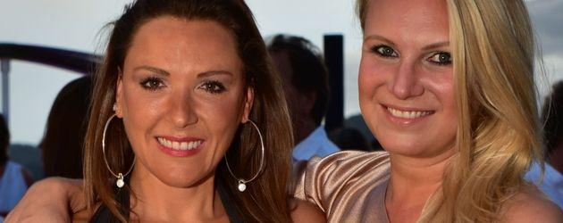 Simone Ballack und Magdalena Brzeska