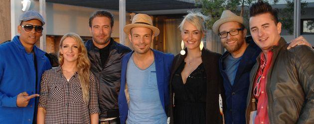 Xavier Naidoo, Sarah Connor, Andreas Gabalier, Sasha und Sandra Nasic